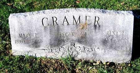 CRAMER, ROBERT L - Juniata County, Pennsylvania | ROBERT L CRAMER - Pennsylvania Gravestone Photos