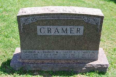 CRAMER, SARAH A. - Juniata County, Pennsylvania | SARAH A. CRAMER - Pennsylvania Gravestone Photos