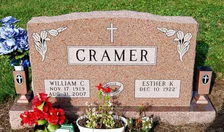 CRAMER, ESTHER - Juniata County, Pennsylvania | ESTHER CRAMER - Pennsylvania Gravestone Photos