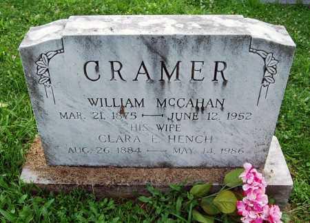 CRAMER, WILLIAM MCCAHAN - Juniata County, Pennsylvania | WILLIAM MCCAHAN CRAMER - Pennsylvania Gravestone Photos