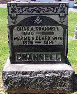 CRANNELL, CHARLES A. - Juniata County, Pennsylvania | CHARLES A. CRANNELL - Pennsylvania Gravestone Photos