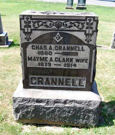 CRANNELL, MAYME A. - Juniata County, Pennsylvania | MAYME A. CRANNELL - Pennsylvania Gravestone Photos