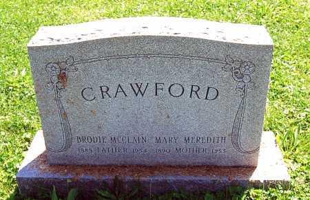 CRAWFORD, MARY - Juniata County, Pennsylvania   MARY CRAWFORD - Pennsylvania Gravestone Photos