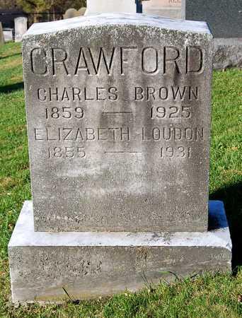CRAWFORD, CHARLES BROWN - Juniata County, Pennsylvania   CHARLES BROWN CRAWFORD - Pennsylvania Gravestone Photos