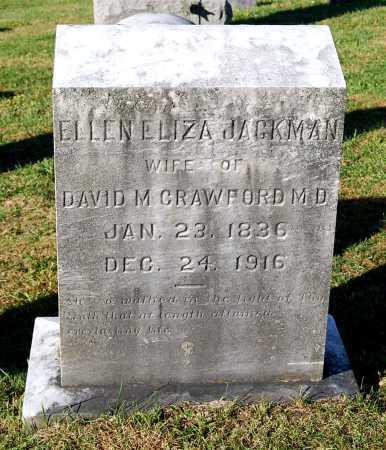 JACKMAN CRAWFORD, ELLEN ELIZA - Juniata County, Pennsylvania | ELLEN ELIZA JACKMAN CRAWFORD - Pennsylvania Gravestone Photos