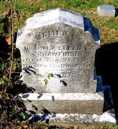 CRAWFORD, JAMES WOODBURN - Juniata County, Pennsylvania | JAMES WOODBURN CRAWFORD - Pennsylvania Gravestone Photos