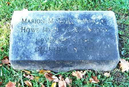 CRAWFORD, MARION M. - Juniata County, Pennsylvania | MARION M. CRAWFORD - Pennsylvania Gravestone Photos