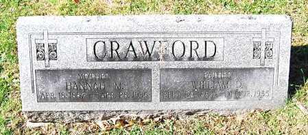 CRAWFORD, WILLIAM D. - Juniata County, Pennsylvania | WILLIAM D. CRAWFORD - Pennsylvania Gravestone Photos