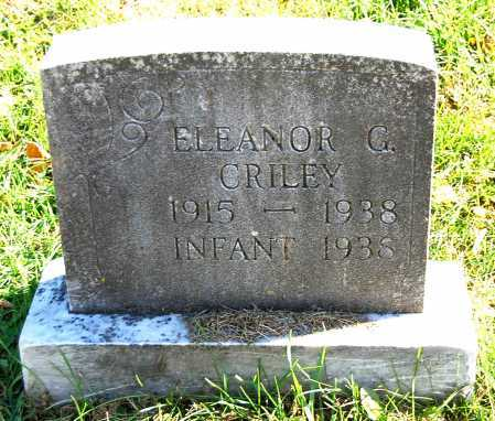 CRILEY, ELEANOR G. - Juniata County, Pennsylvania | ELEANOR G. CRILEY - Pennsylvania Gravestone Photos
