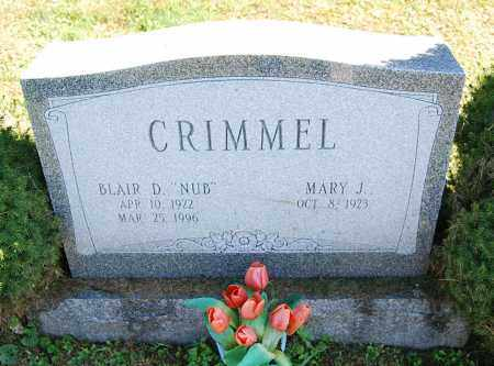 CRIMMEL, MARY J. - Juniata County, Pennsylvania | MARY J. CRIMMEL - Pennsylvania Gravestone Photos