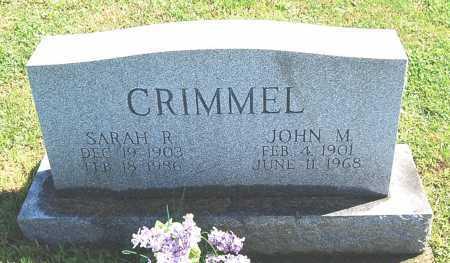 CRIMMEL, JOHN MELVIN - Juniata County, Pennsylvania | JOHN MELVIN CRIMMEL - Pennsylvania Gravestone Photos
