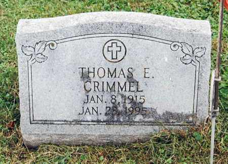 CRIMMEL, THOMAS E. - Juniata County, Pennsylvania | THOMAS E. CRIMMEL - Pennsylvania Gravestone Photos