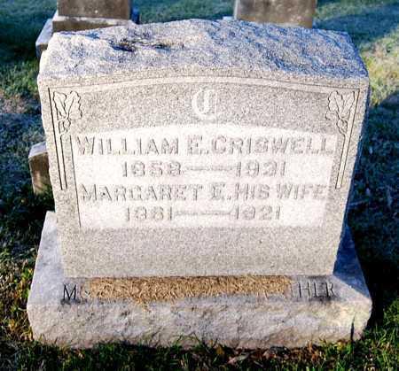 CRISWELL, WILLIAM E. - Juniata County, Pennsylvania   WILLIAM E. CRISWELL - Pennsylvania Gravestone Photos