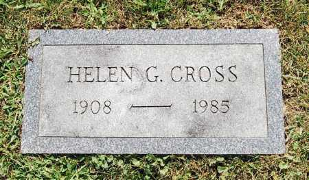 CROSS, HELEN G. - Juniata County, Pennsylvania | HELEN G. CROSS - Pennsylvania Gravestone Photos