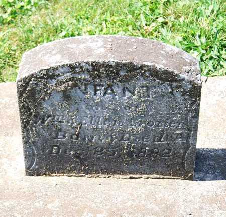CROZIER, (INFANT) - Juniata County, Pennsylvania | (INFANT) CROZIER - Pennsylvania Gravestone Photos