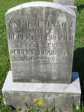 CROZIER, ANNIE E. - Juniata County, Pennsylvania | ANNIE E. CROZIER - Pennsylvania Gravestone Photos