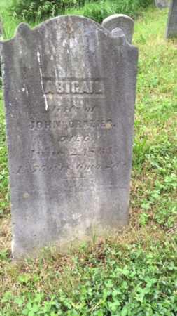 CROZIER, ABIGAIL - Juniata County, Pennsylvania   ABIGAIL CROZIER - Pennsylvania Gravestone Photos
