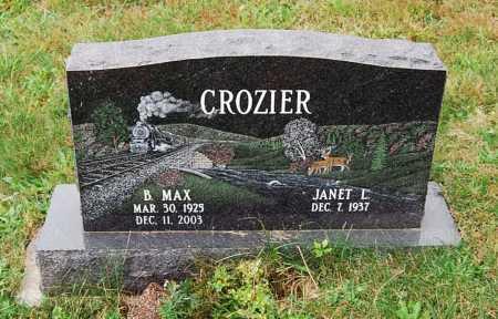 CROZIER, JANET L. - Juniata County, Pennsylvania | JANET L. CROZIER - Pennsylvania Gravestone Photos