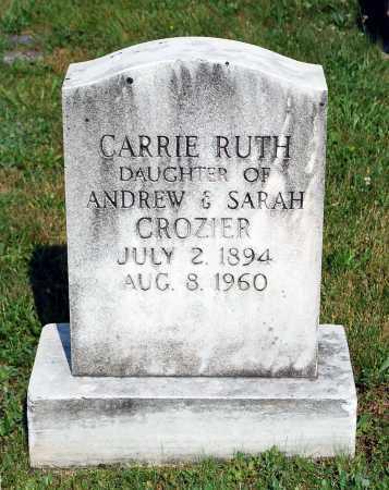 CROZIER, CARRIE RUTH - Juniata County, Pennsylvania | CARRIE RUTH CROZIER - Pennsylvania Gravestone Photos