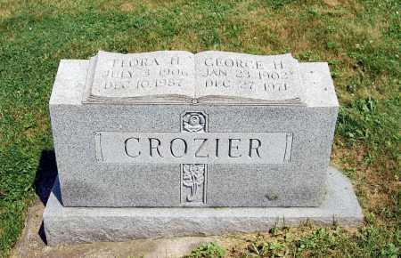 "CROZIER, GEORGE HERBERT ""RED"" - Juniata County, Pennsylvania | GEORGE HERBERT ""RED"" CROZIER - Pennsylvania Gravestone Photos"