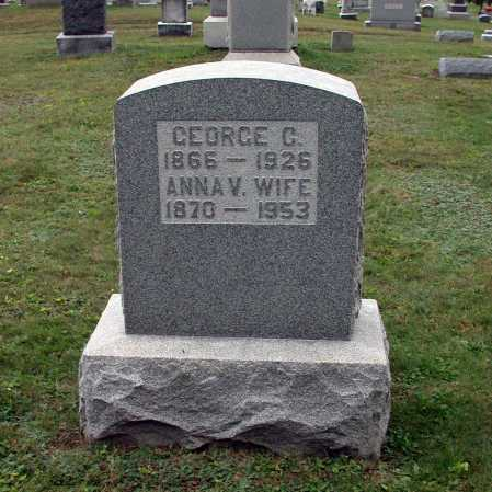 CROZIER, GEORGE GRAHAM - Juniata County, Pennsylvania | GEORGE GRAHAM CROZIER - Pennsylvania Gravestone Photos