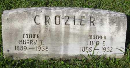 "CROZIER, LULA ""LULU"" E.. - Juniata County, Pennsylvania | LULA ""LULU"" E.. CROZIER - Pennsylvania Gravestone Photos"