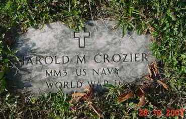 CROZIER, HAROLD M. - Juniata County, Pennsylvania   HAROLD M. CROZIER - Pennsylvania Gravestone Photos