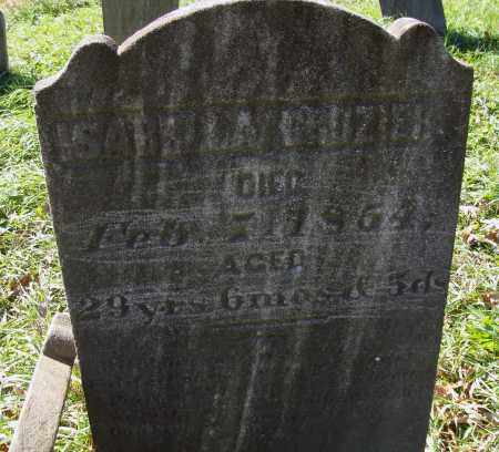 CROZIER, ISABELLA - Juniata County, Pennsylvania   ISABELLA CROZIER - Pennsylvania Gravestone Photos