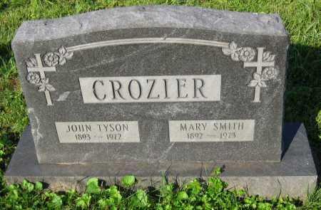 CROZIER, JOHN TYSON - Juniata County, Pennsylvania | JOHN TYSON CROZIER - Pennsylvania Gravestone Photos