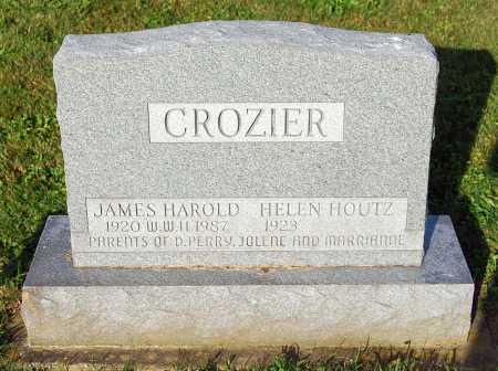 CROZIER, JAMES HAROLD - Juniata County, Pennsylvania | JAMES HAROLD CROZIER - Pennsylvania Gravestone Photos