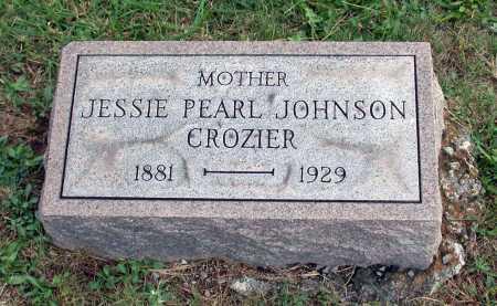 CROZIER, JESSIE PEARL - Juniata County, Pennsylvania | JESSIE PEARL CROZIER - Pennsylvania Gravestone Photos