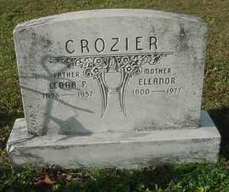 CROZIER, MARY ELEANOR - Juniata County, Pennsylvania | MARY ELEANOR CROZIER - Pennsylvania Gravestone Photos