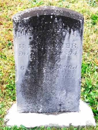 CROZIER, MARY ANN - Juniata County, Pennsylvania   MARY ANN CROZIER - Pennsylvania Gravestone Photos