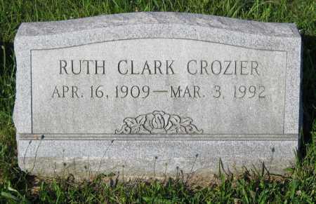 CROZIER, RUTH MARIE - Juniata County, Pennsylvania   RUTH MARIE CROZIER - Pennsylvania Gravestone Photos