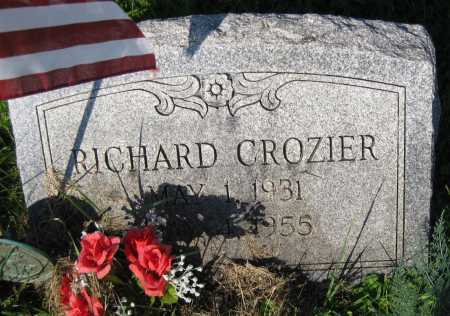 CROZIER, RICHARD - Juniata County, Pennsylvania | RICHARD CROZIER - Pennsylvania Gravestone Photos