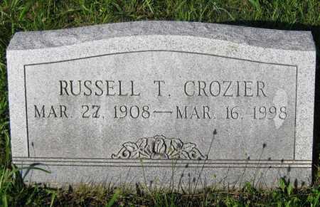 CROZIER, RUSSELL T. - Juniata County, Pennsylvania | RUSSELL T. CROZIER - Pennsylvania Gravestone Photos