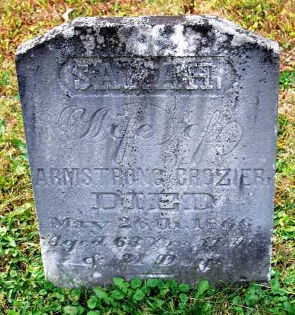 CROZIER, SARAH - Juniata County, Pennsylvania | SARAH CROZIER - Pennsylvania Gravestone Photos