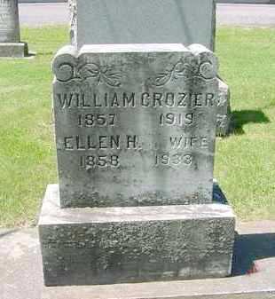 CROZIER, ELLEN H. - Juniata County, Pennsylvania | ELLEN H. CROZIER - Pennsylvania Gravestone Photos