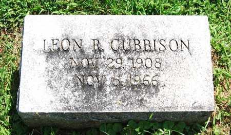 CUBBISON, LEON R. - Juniata County, Pennsylvania   LEON R. CUBBISON - Pennsylvania Gravestone Photos