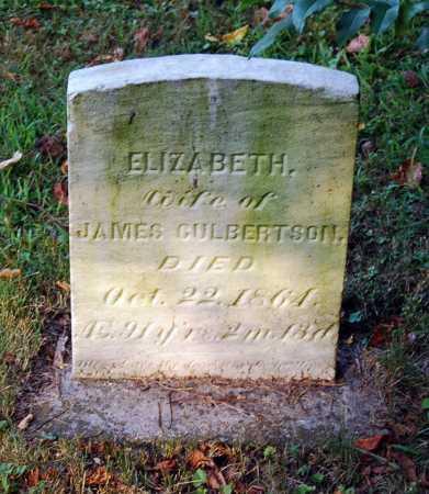 CULBERTSON, ELIZABETH - Juniata County, Pennsylvania | ELIZABETH CULBERTSON - Pennsylvania Gravestone Photos
