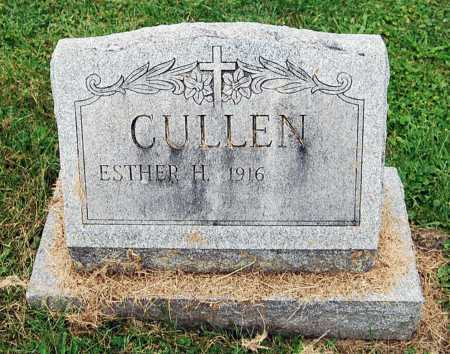 CULLEN, ESTHER H. - Juniata County, Pennsylvania | ESTHER H. CULLEN - Pennsylvania Gravestone Photos