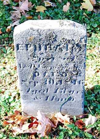 CUNNINGHAM, EPHRAIM - Juniata County, Pennsylvania | EPHRAIM CUNNINGHAM - Pennsylvania Gravestone Photos