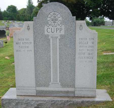CUPP, EFFIE MAY - Juniata County, Pennsylvania | EFFIE MAY CUPP - Pennsylvania Gravestone Photos