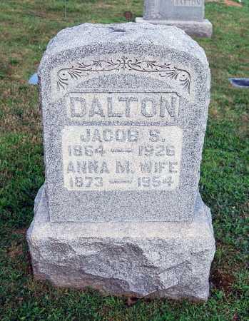DALTON, JACOB S. - Juniata County, Pennsylvania | JACOB S. DALTON - Pennsylvania Gravestone Photos
