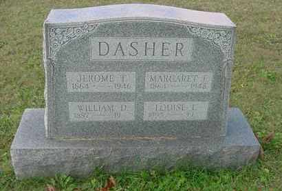 DASHER, MARGARET E. - Juniata County, Pennsylvania | MARGARET E. DASHER - Pennsylvania Gravestone Photos