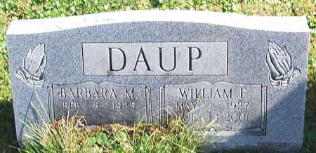 DAUP, BARBARA M. - Juniata County, Pennsylvania | BARBARA M. DAUP - Pennsylvania Gravestone Photos