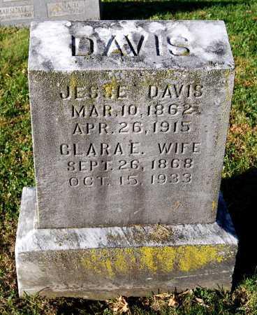 DAVIS, CLARA E. - Juniata County, Pennsylvania | CLARA E. DAVIS - Pennsylvania Gravestone Photos