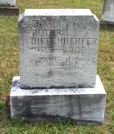 DIFFENDERFER, PETER - Juniata County, Pennsylvania   PETER DIFFENDERFER - Pennsylvania Gravestone Photos