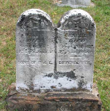 DIFFENDERFER, CHARLIE - Juniata County, Pennsylvania | CHARLIE DIFFENDERFER - Pennsylvania Gravestone Photos