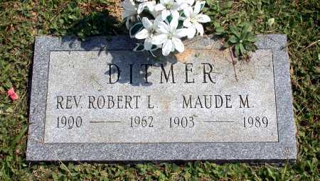 ADAMS DITMER, MAUDE M. - Juniata County, Pennsylvania | MAUDE M. ADAMS DITMER - Pennsylvania Gravestone Photos